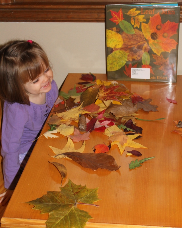 Leaf Man Activity
