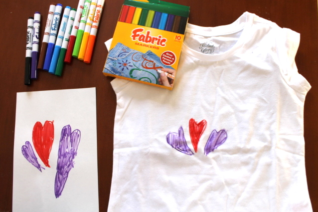Design A Shirt With Fabric Markers Teaching Every Day