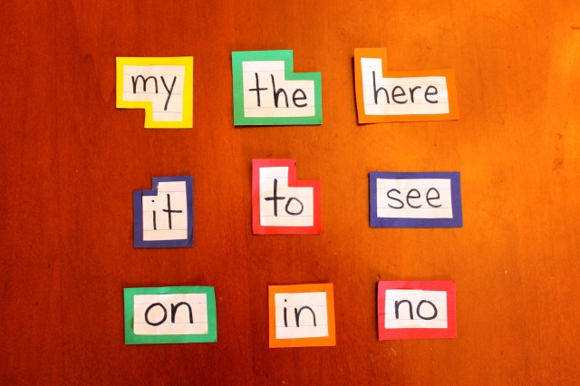 Basic Sight Word Game