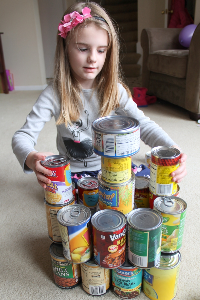 CANstruction- Learning with Cans
