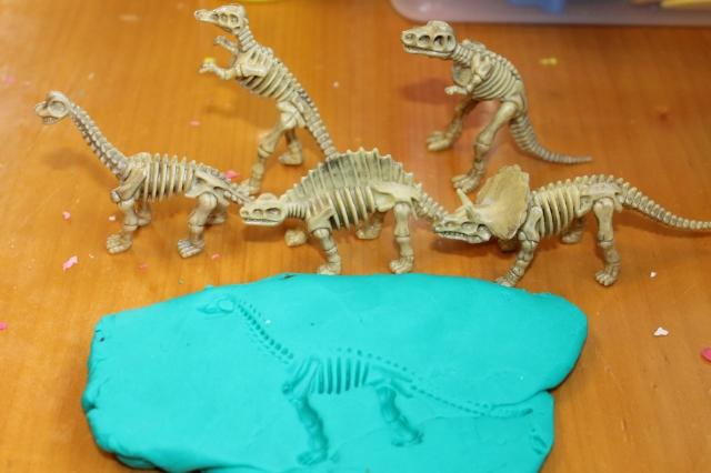 dinosaur imprint