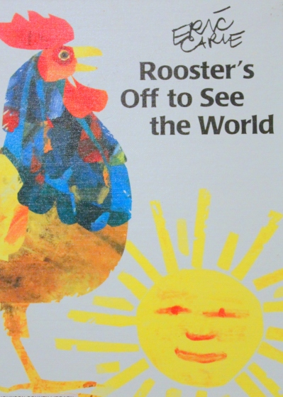 Rooster's off to see the world activities