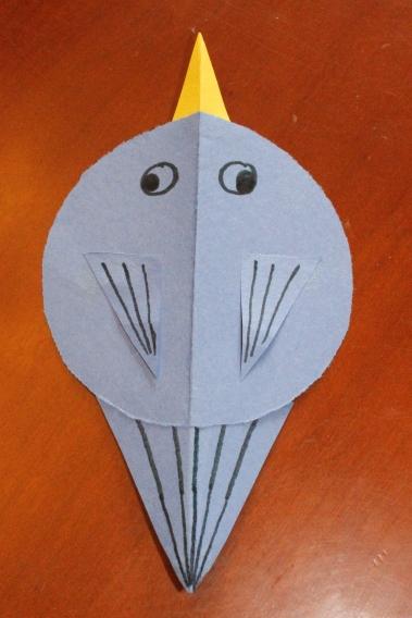 symmetry shape bird