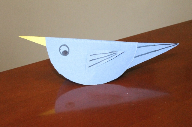 paper bird craft