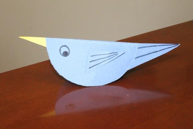 paper bird craft