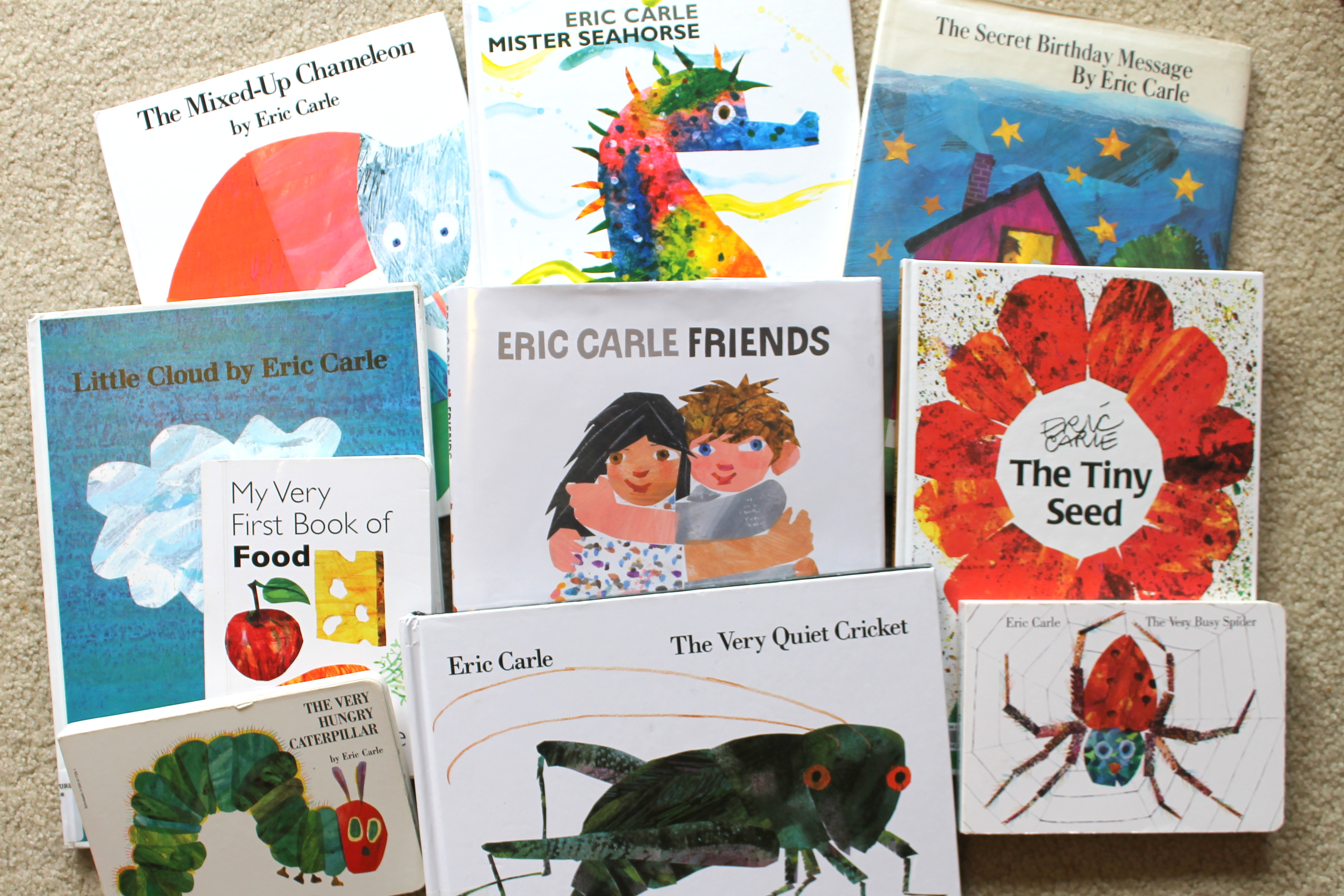 Book Activity on Eric Carle Author Study
