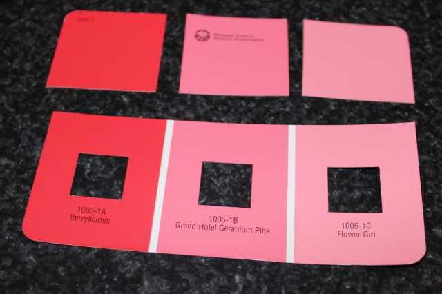 matching paint chips to learn colors